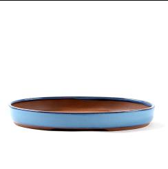 Vaso Literato Oval 28,5 cm x 19 cm x 4 cm