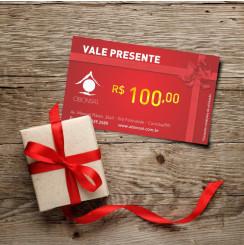 Vale Presente R$100,00 O Bonsai
