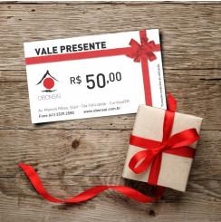 Vale Presente R$50,00 O Bonsai